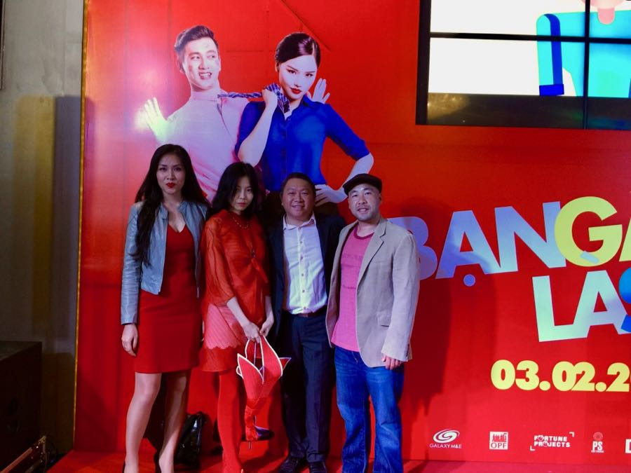 "Attending the Premiere of ""Ban Gai Toi La Sep"" with Director Ham Tran."