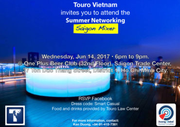 ouro Law Center Vietnam study abroad program invites professionals to mentor, educate and discuss with law students